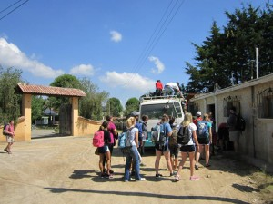 Loading up the bus to Chajul