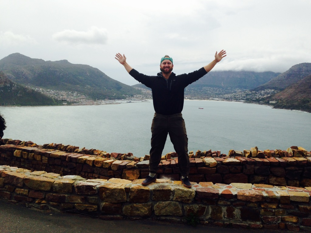 I felt like I was on top of the world at the peak of Hout Bay