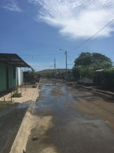 A street of Villa Guadalupe