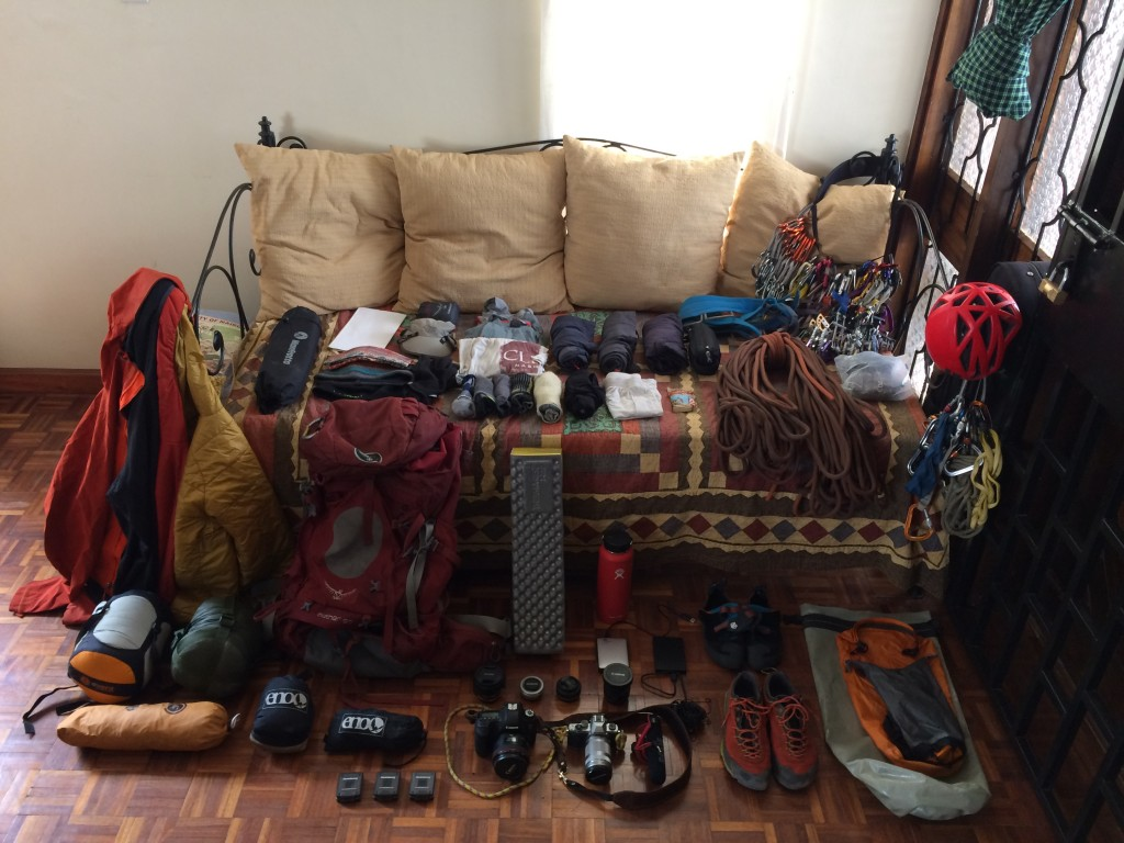 Clothes, gear, cameras, and more