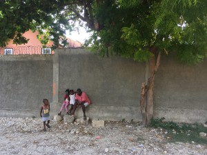Jean Claude pouring into and loving on some sweet local little ones that pass by our campus daily