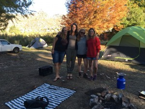 camping coworkers!