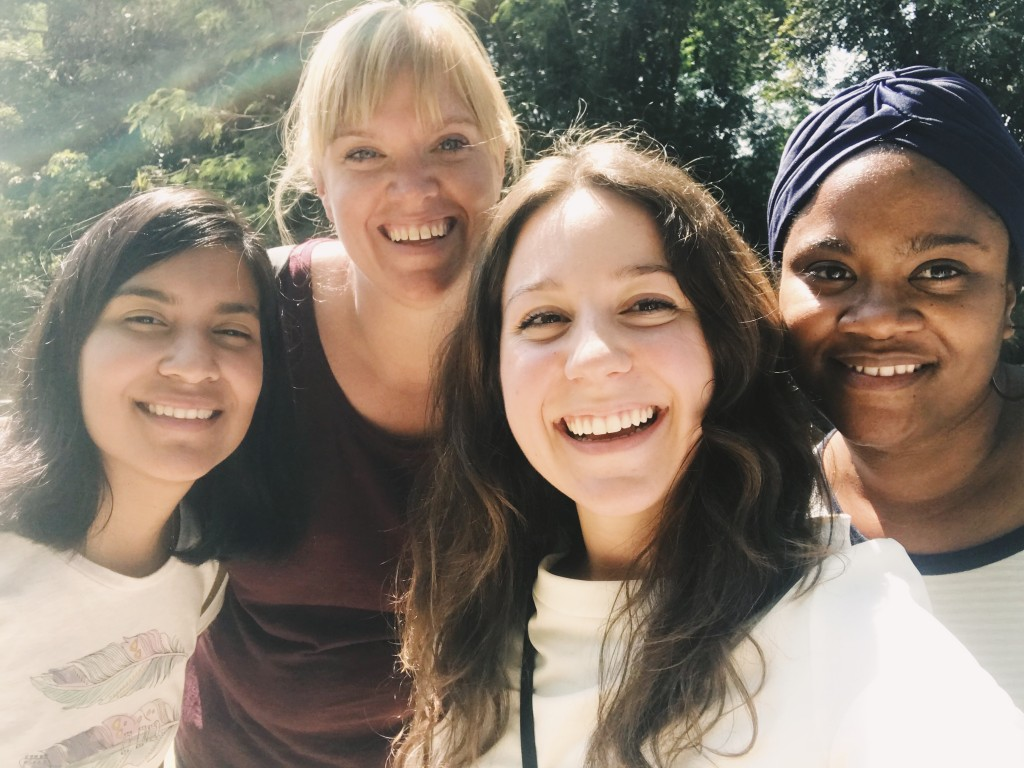 A few girls from Remote Year that have volunteered at the home a few times this past month. I have loved getting to hang out with so many people from all over the world!
